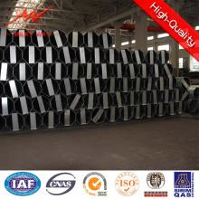 Pólo galvanizado aço de serviço público da distribuição 40FT