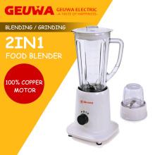 Geuwa 1250ml Mezclador de plástico con tapa adicional