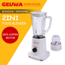 Geuwa 1250ml Plastic Blender with Adding Cap