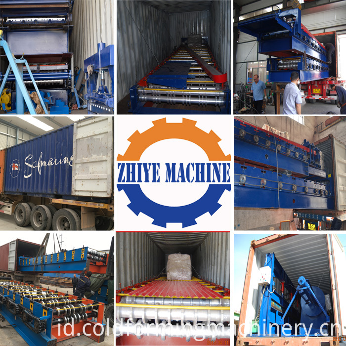 The Production Line Of Glazed Tiles Machine