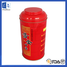 Metal Tin Box for Tea With Inner Lid