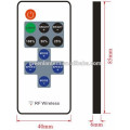 DC 5V-24V input 12A output 11 keys RF remote mini LED controller/dimmer