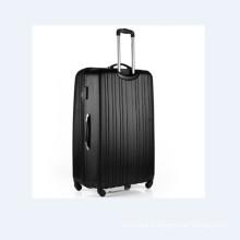 Élégant ensemble de valises trolley ABS noir