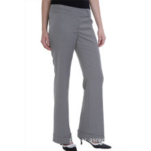 Spring/Autumn Women's Fashion Wrinkle-Free Bell Bottom Trousers
