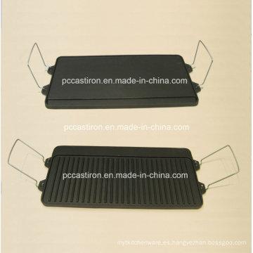 Planchas de Hierro Fundido Preseasoned Fabricante de China