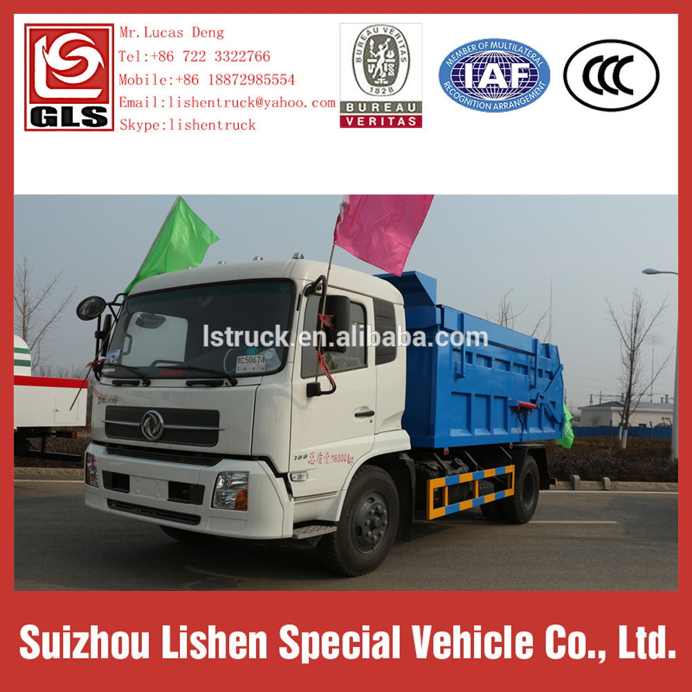 Rubbish Collecting Trucks Compactor Garbage Truck