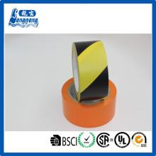 Material de PVC buen rendimiento de pisos cintas adhesivas