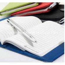 Notebook de capa dura de alta qualidade com papel impermeável a pedra