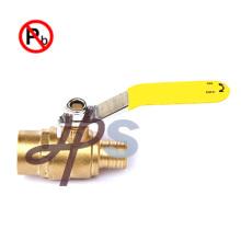 Lead free brass pex ball valve