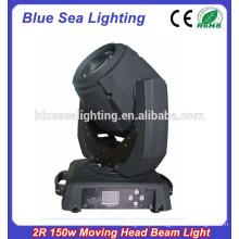 Venda quente 120w 2r viga luz da cabeça em movimento