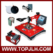 2016 New Business Sublimation Transfer 6 in 1 Heat Press Machine
