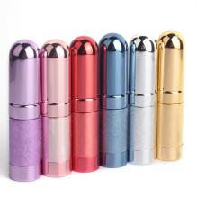 empty refillable travel 5ml metal sample perfume bottle cosmetic glass spray bottle