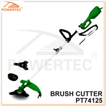 Powertec 1000W 350mm Electric Brush Cutter with Metal Blade (PT74125)