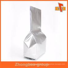 Stand up côté gousset ruban thé usine d'emballage Guangzhou