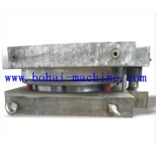 Molde de tampa superior e inferior para a fabricação de tambores de aço