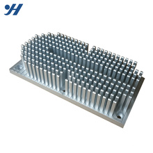 OEM high quality extruded anodized Aluminum round pin fin heatsink