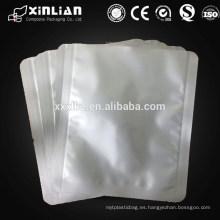 Bolsa de cocina de aluminio anti-estática ziplock de aluminio