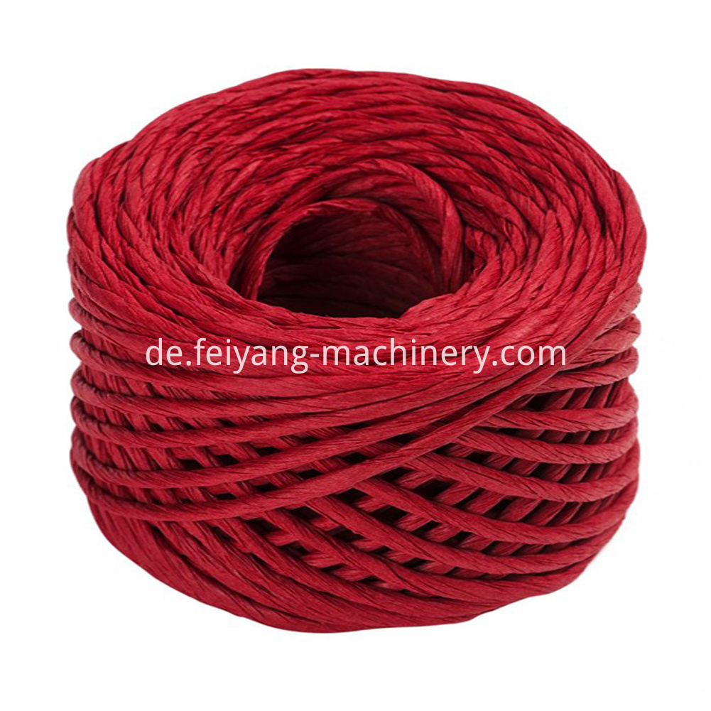 Claret Twisted Paper Cord