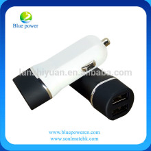 High quality best price 12-24v input 5v 2.4A/4.8A output 2 usb car charger