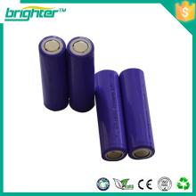 Bateria de bateria recarregavel de lítio 18650 para cortador de cabelo