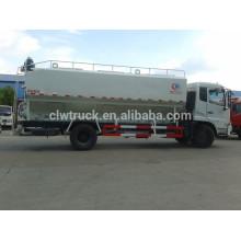 Dongfeng 12-15m3 alimenta caminhões a granel, 4x2 caminhão de entrega de granel de alimentação
