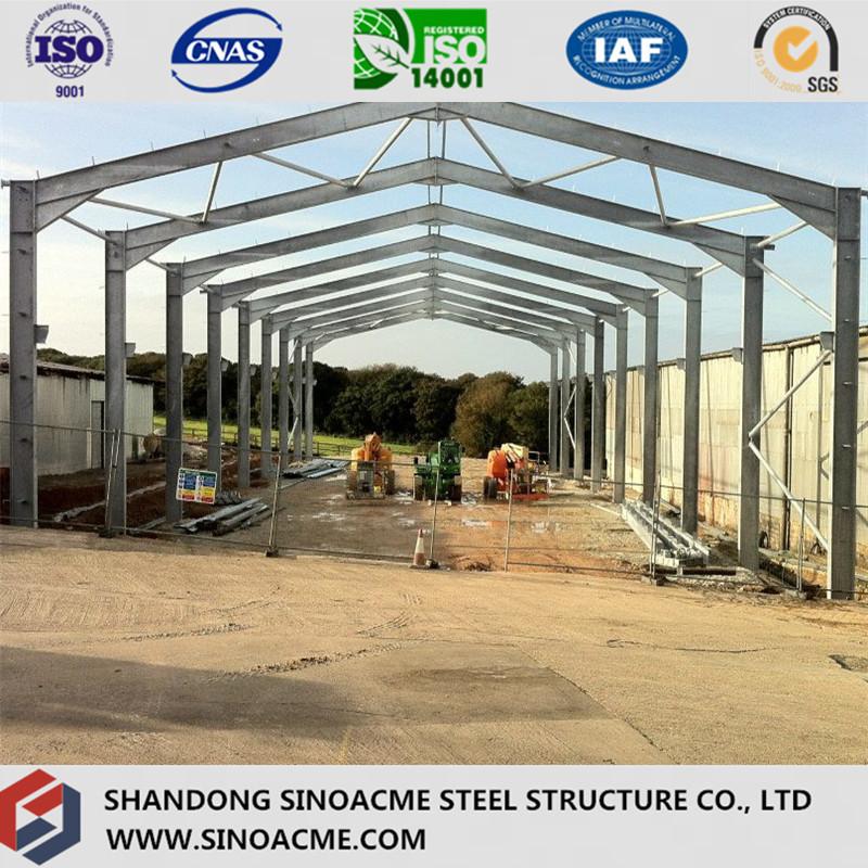 Stahl Portal Rahmen Gebäude für Cowshed China Hersteller