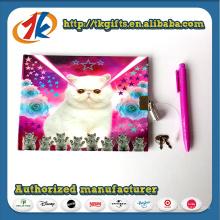 Chine fournisseur mignon animal Notebook et stylo à bille jouet