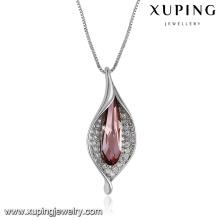 43366-belle bijoux femme Cristaux de Swarovski, collier avec cristaux d'améthyste