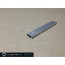 Acabado de aluminio Listello de plata mate
