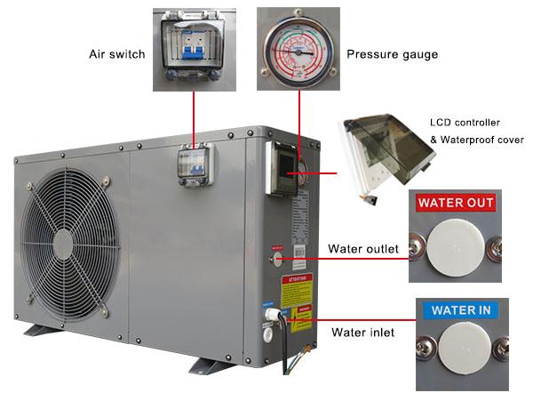 Wifi Heat Pump With Circulation Pump