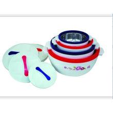 4 PCS Plastic Food Warmer Set