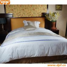 Hotel Coleção Deco 400t Acolchoado Champanhe (Bege) Completo / Rainha Cobertor