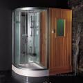 Sala de sauna infrarroja EAGO con ducha de vapor Combinaciones de sauna DS205F8