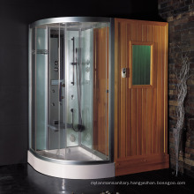 EAGO infrared sauna room with steam shower DS205F8 sauna combos