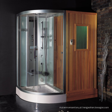 EAGO sala de sauna de infravermelhos com chuveiro a vapor DS205F8 combos sauna