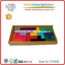 Juguetes educativos preescolares Puzzle de rompecabezas de madera