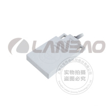 PVC Cable Plástico Rectangular Tipo Pipeline Capacidad Proximidad Switch Sensor (CE07 DC3)
