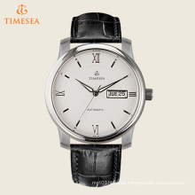 Men′s Silver-Tone Mechanical Wrist Watches 72482