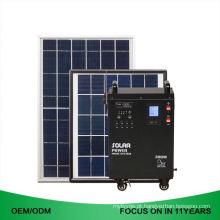 Sistema solar recarregável 50W do gerador de potência da casa da CA da energia 300W