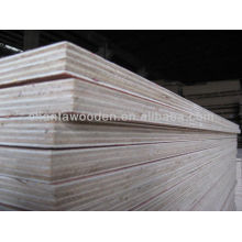 Shandong linyi high quality and different thickness commercial plywood