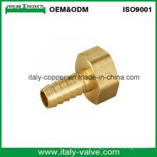 Top Quality Brass External Thread Joint Hose Fitting (AV-BF-7046)