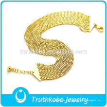 New Trend Product 18K Gold Filled Jewelry Box Chain Bracelet