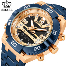 Relógio SMAEL Masculino Top Luxo em Aço Inoxidável