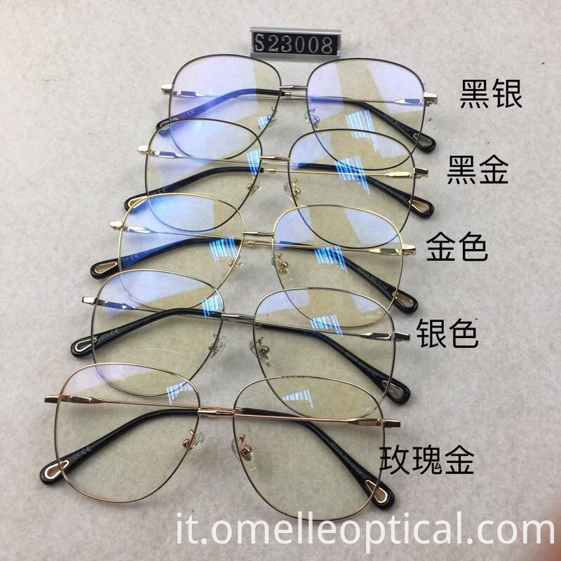 Oval Glasses Mens