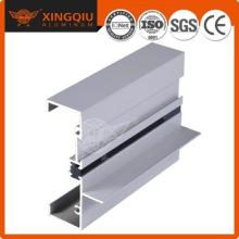 Perfil de aluminio plateado, perfil de aluminio serie