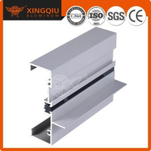 Profil en aluminium argenté, profil aluminium en série