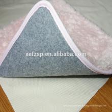 waschbare Teppichunterlage wasserdichte Teppichunterlage rutschfeste Wolldeckeauflage