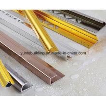 Perfil de aluminio para decoración de azulejos
