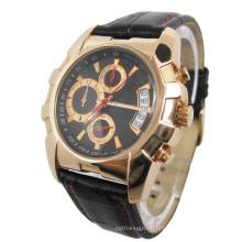 Top marque en acier inoxydable montre pour hommes (HAL-1279)