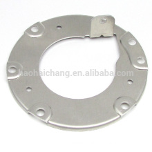 Aluminum flange with plastic parts for heat sink
